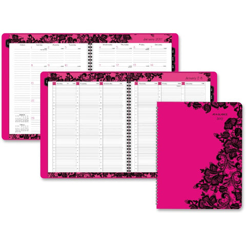 At-A-Glance Madonna Lace Full Size Appointment Book