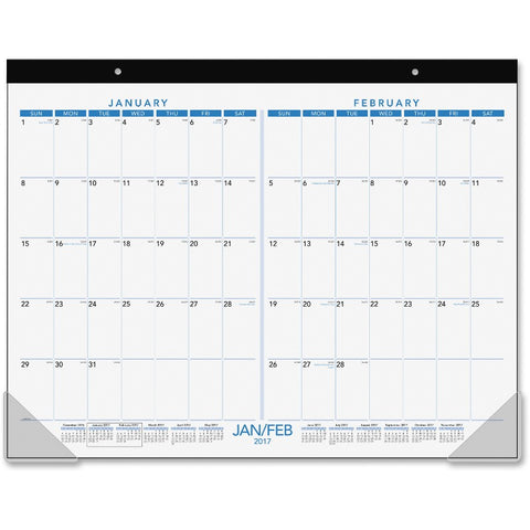 At-A-Glance 2-month View Calendar Desk Pad