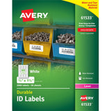 Avery Permanent Durable ID Labels with TrueBlock Technology