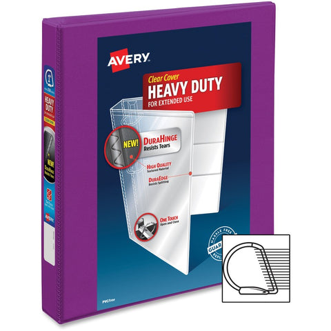 Avery Durable View Binders with Slant Rings