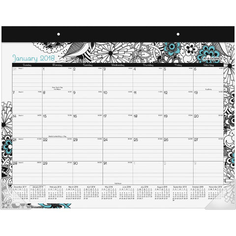 At-A-Glance Medley Monthly Desk Pad