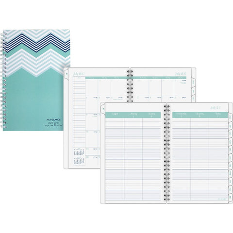 At-A-Glance Weekly Monthly Teacher Planner
