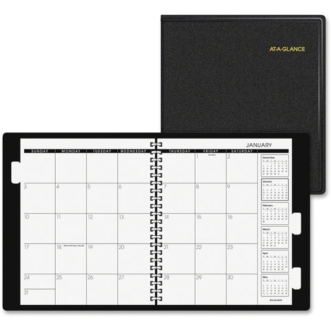 At-A-Glance Three-Year Monthly Planner