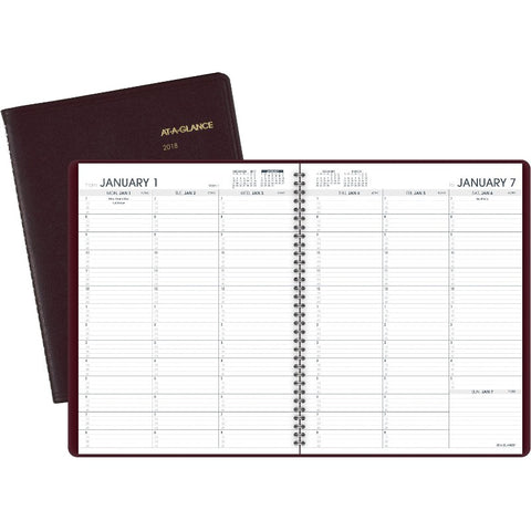 At-A-Glance Weekly Appointment Book