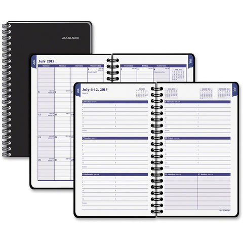 At-A-Glance Collegiate Weekly Monthly Appointment Book