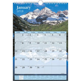 At-A-Glance Scenic Monthly Wall Calendar