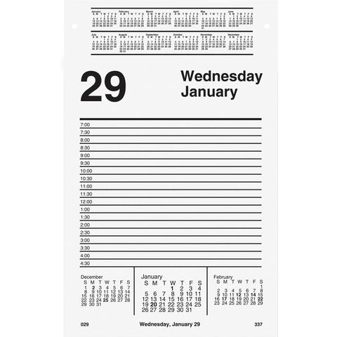 At-A-Glance Daily Pad-Style Desk Calendar Refill