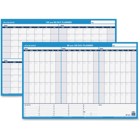 At-A-Glance 90/120-Day Erasable Wall Planner