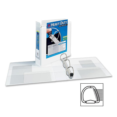 Avery Extra-Wide Heavy Duty View Binders with One Touch EZD Rings