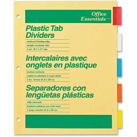 Avery Office Essentials Insertable Dividers