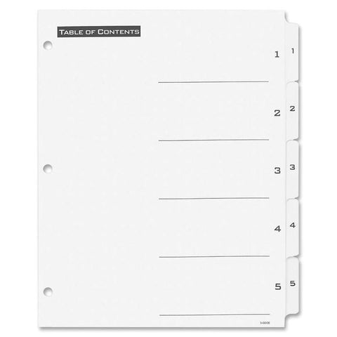 Avery Office Essentials Table 'n Tabs Dividers