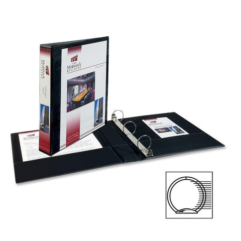 Avery Showcase Economy View Binders with Round Rings