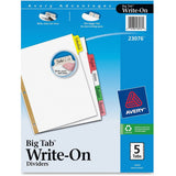 Avery Big Tab Write & Erase Paper Dividers