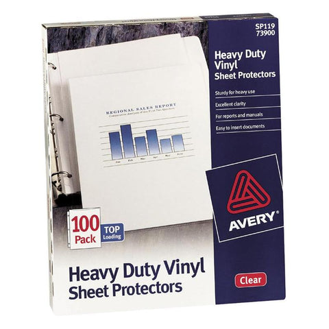 Avery Heavy Duty Vinyl Sheet Protectors