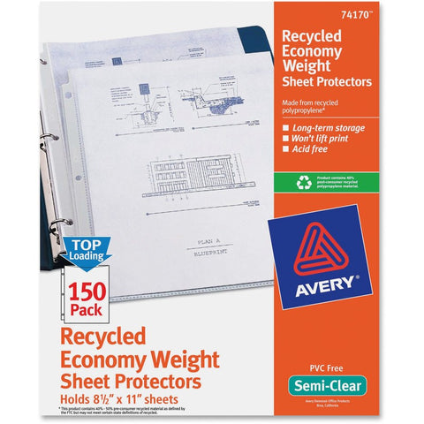 Avery Economy Weight Sheet Protectors