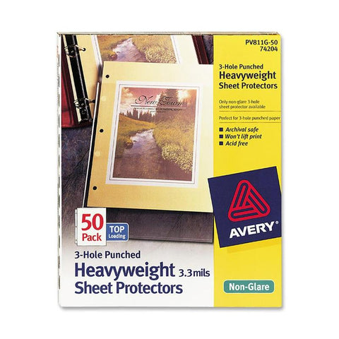 Avery Page Size Sheet Protectors