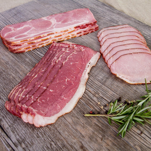 Locally Produced Premium Bacon, and Quality Meat Products unconventional bacon varieties from Nolechek's Meats in Thorp, WI