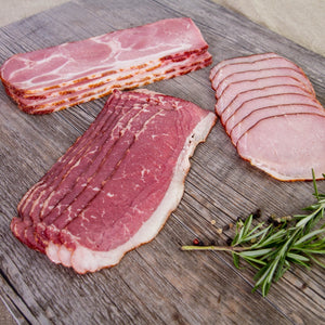 delicious unconventional bacon varieties from Nolechek's Meats in Thorp, WI