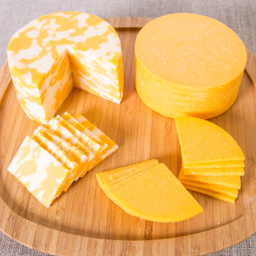 Premium varieties of LaGrander's Wisconsin Cheese