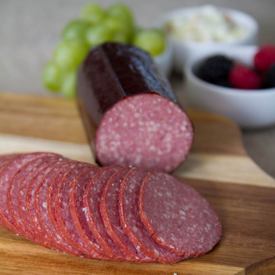 Hickory Smoked Summer Sausage - Nolechek's Meats, Inc.