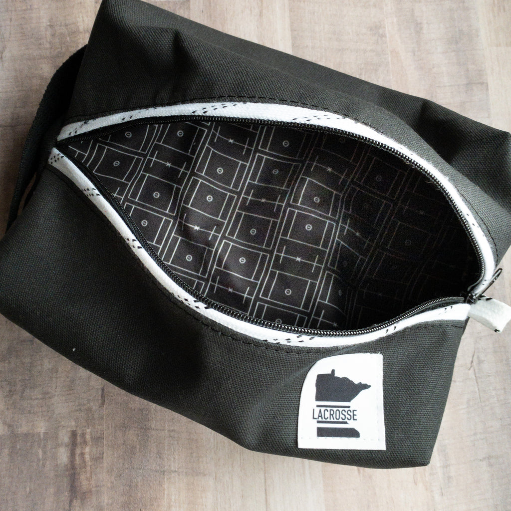 Limited Edition - Lacrosse Field Dopp Kit