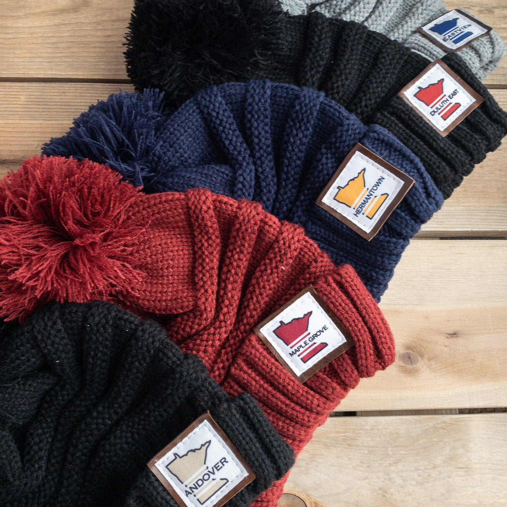 Chunky Pom Hat - Urban Acres Creative