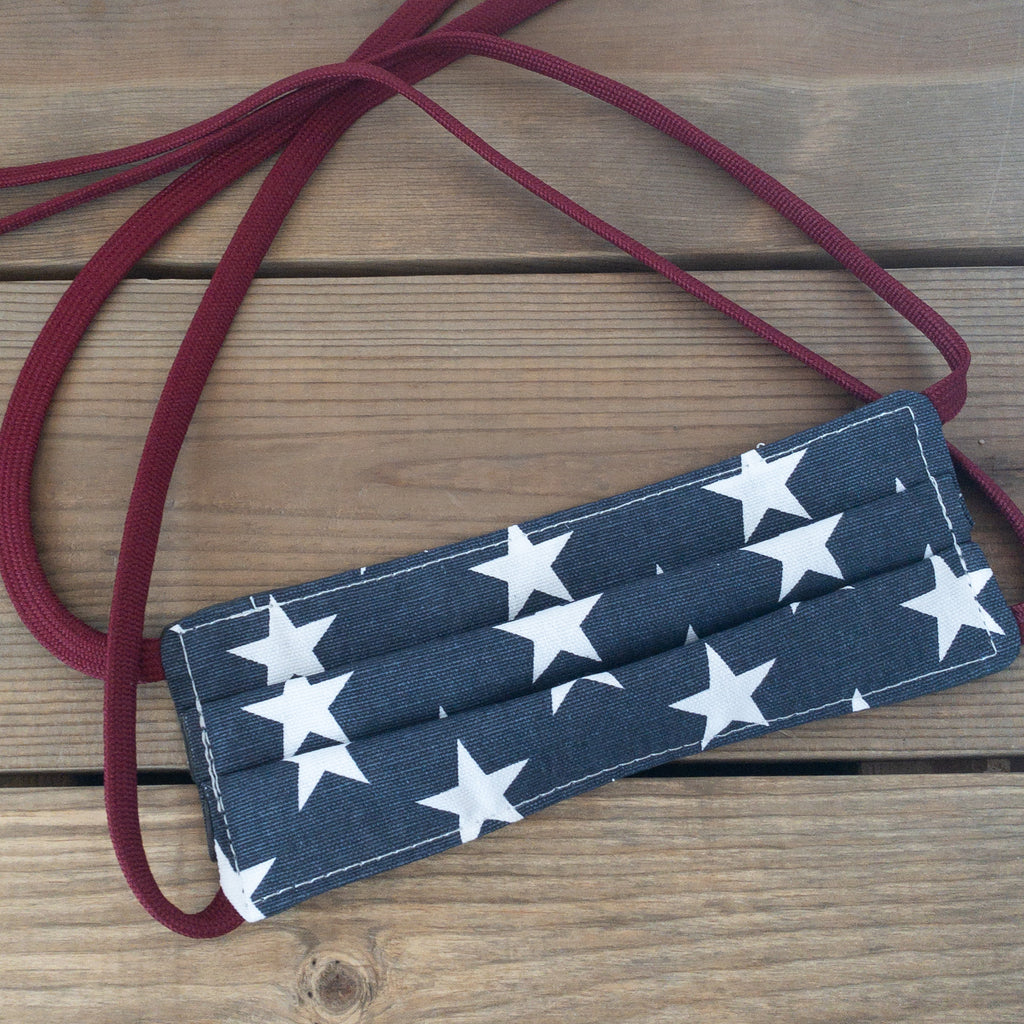 Patriotic Stars Face Mask - Urban Acres Creative