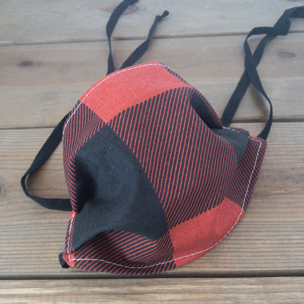 Buffalo Plaid Face Mask - Urban Acres Creative