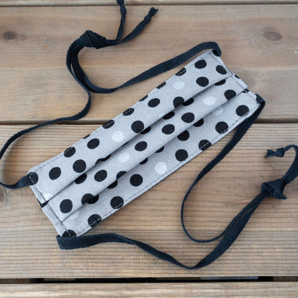 Polka Dot Face Mask - Urban Acres Creative