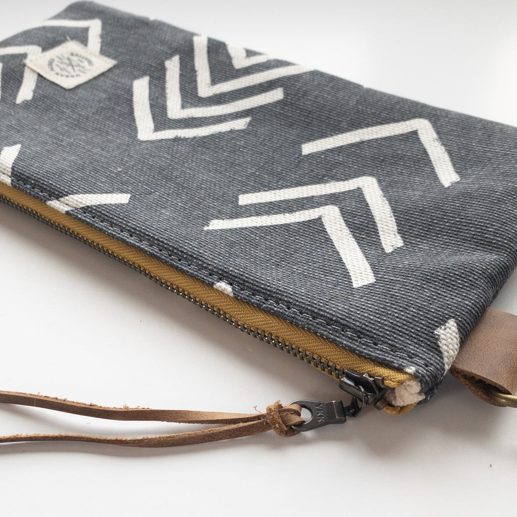 EVELETH - Zip Pouch - Grey Chev