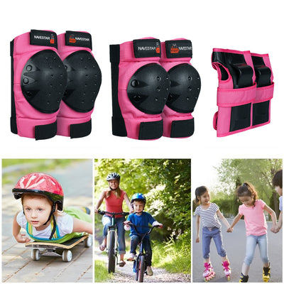 Skateboards Protective Gear Sets Black (Adult & Child)