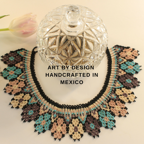 ART BY DESIGN-AUTHENTIC OTOMI ART - OTOMI  JEWELRY , MEXICAN JEWELRY