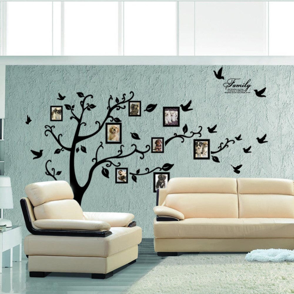 Div idenbtranslateelement div family tree wall sticker family tree wall sticker on the wall black art photo frame memory tree wall amipublicfo Image collections