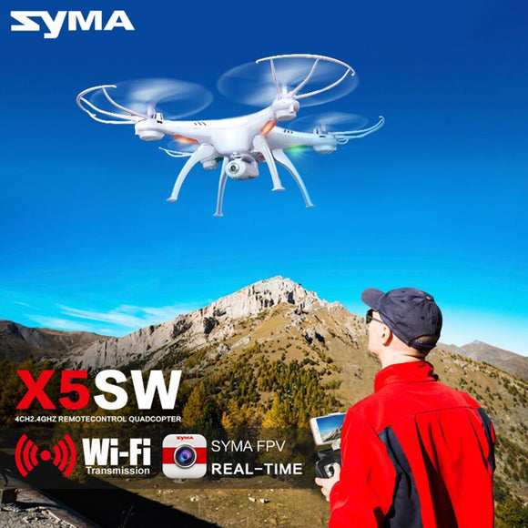 Syma X5SW Drone with WiFi Camera Real-time Transmit FPV Quadcopter (X5C Upgrade)  HD Camera Dron 2.4G 4CH