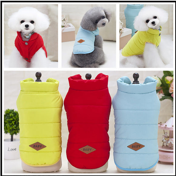 Super Warm Sweater Puppy Pet Dog Cat Clothes FREE SHIPPING Standard Delivery