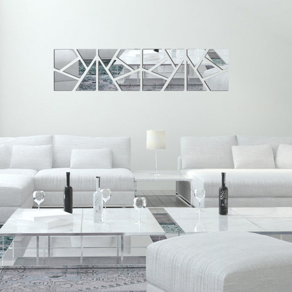 New Wall sticker Home decoration acrylic Mirror Decal