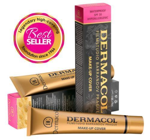 *SHIPPING USA ONLY * DERMACOL HIGH COVERING MAKE UP FOUNDATION LEGENDARY FILM STUDIO HYPOALLERGENIC