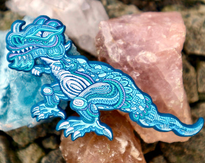 Chris Dyer x Positivasaurus Pin