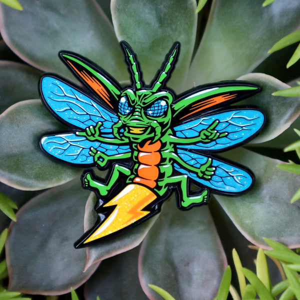 Electrifly Bug Logo Pin 2.0