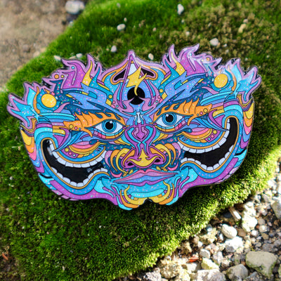 Electric Shaman Steven Haman Augmented Reality Pin