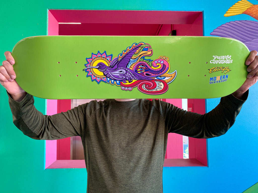 Chris Dyer Picaflor Augmented Reality Skateboard