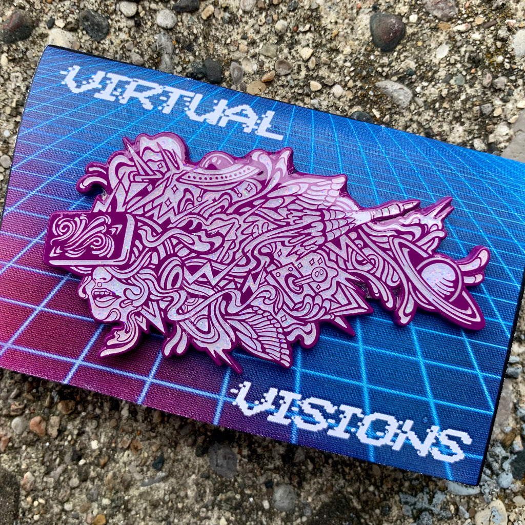Chaya Av x Virtual Visions AR Pin
