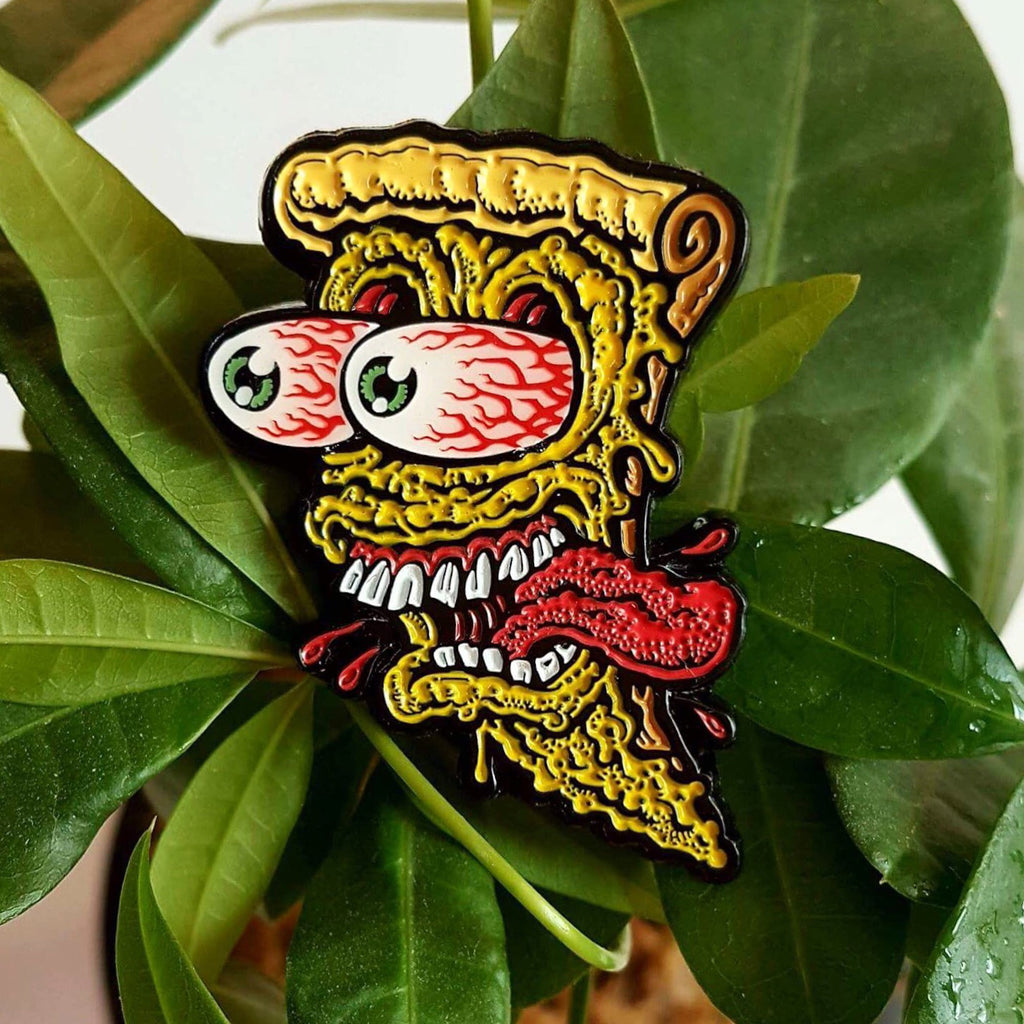 Pizza Face Pin (OG)