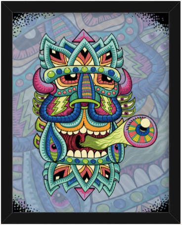 Black Box King AR Art Print - Chris Dyer