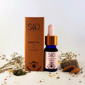 Conditioning & Nurturing BEARD OIL (Subtle Spice)
