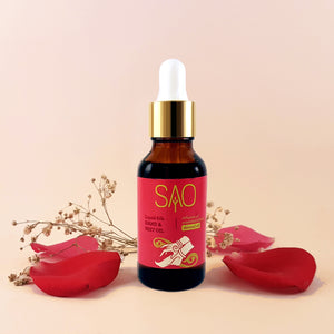 Liquid Silk Hand & Feet Oil (Essential Oils infused in Almond Oil)