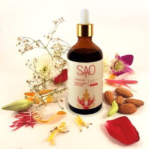 Luxurious Body Oil (Essential Oils Infused in Almond Oil)
