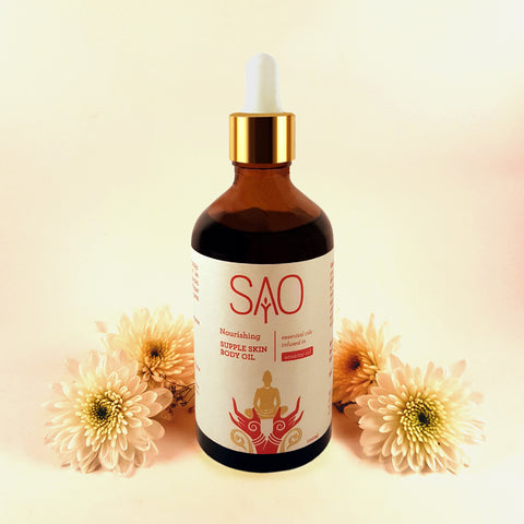 Nourishing Supple Skin Body Oil (Essential Oils in Sesame)