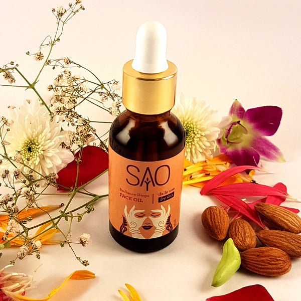 Radiance Drops Face Oil Daily Use (Dry Skin)