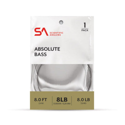SCIENTIFIC ANGLERS ABSOLUTE BASS LEADER SINGLE PACK
